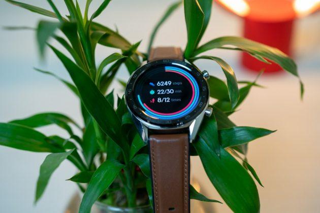 huawei watch gt activity log