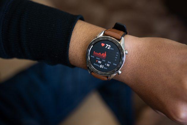 huawei watch gt heart rate monitor
