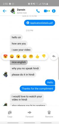 messenger quoted reply