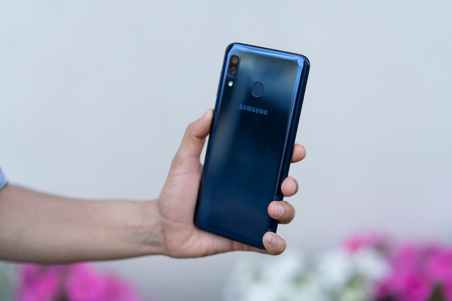 Samsung Galaxy A20 Camera
