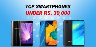 Top Smartphones Under 30000 in Nepal