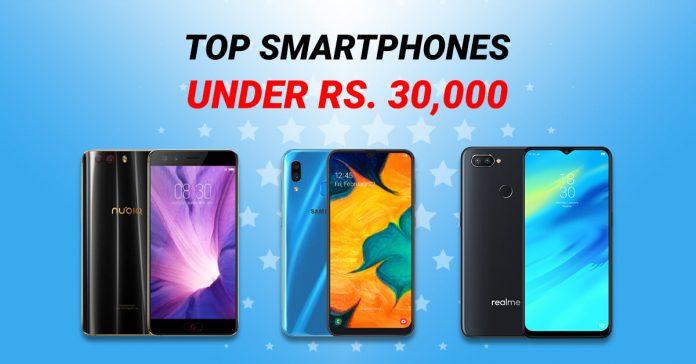 Top Smartphones Under 30000 in Nepal