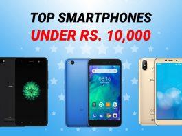 top smartphones under 10k