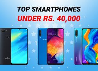 top smartphones under 40k