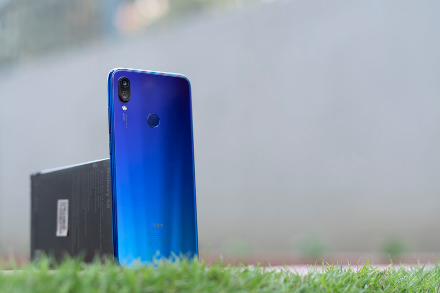 redmi note 7 glass back