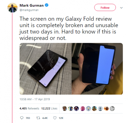 samsung galaxy fold breaks 1