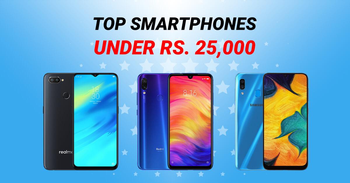 Best Smartphones under 25000 in Nepal - Lower Midrange smartphones