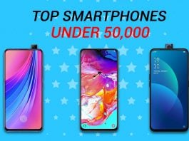 top smartphones under 50k in nepal