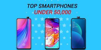 top smartphones under 50k in nepal