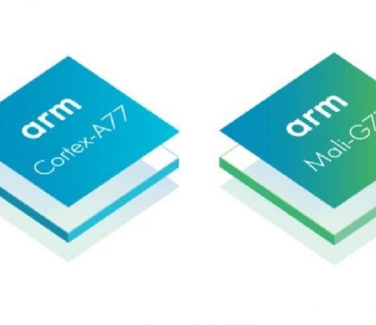 Arm Cortex-A77 cpu mali g77 gpu