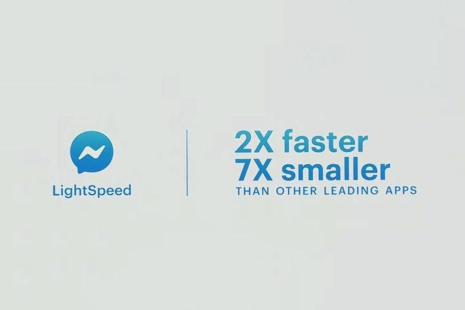 Facebook F8 - messenger