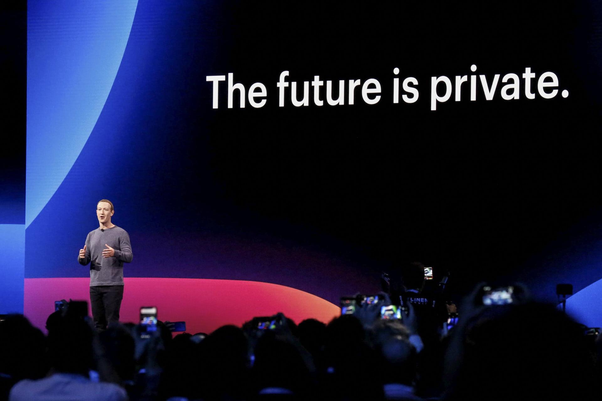 Facebook F8 - privacy