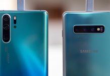 Huawei P30 Pro vs samsung Galaxy S10 Plus Night Mode