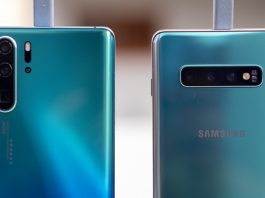 Huawei P30 Pro vs samsung Galaxy S10 Plus Night Mode