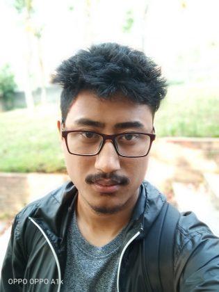 OPPO A1k Selfie Portrait 2