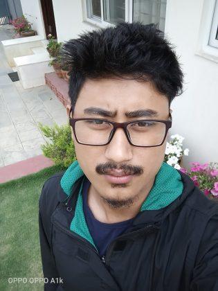 OPPO A1k selfie 1
