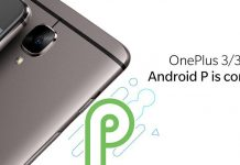 android pie for oneplus 3 and 3t