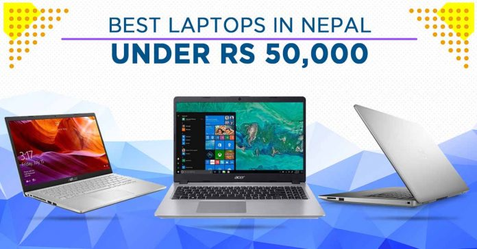 best Laptops Under 50000 Nepal