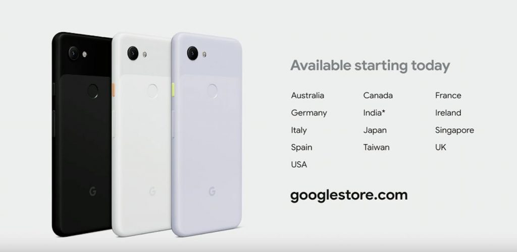 google pixel 3a availability