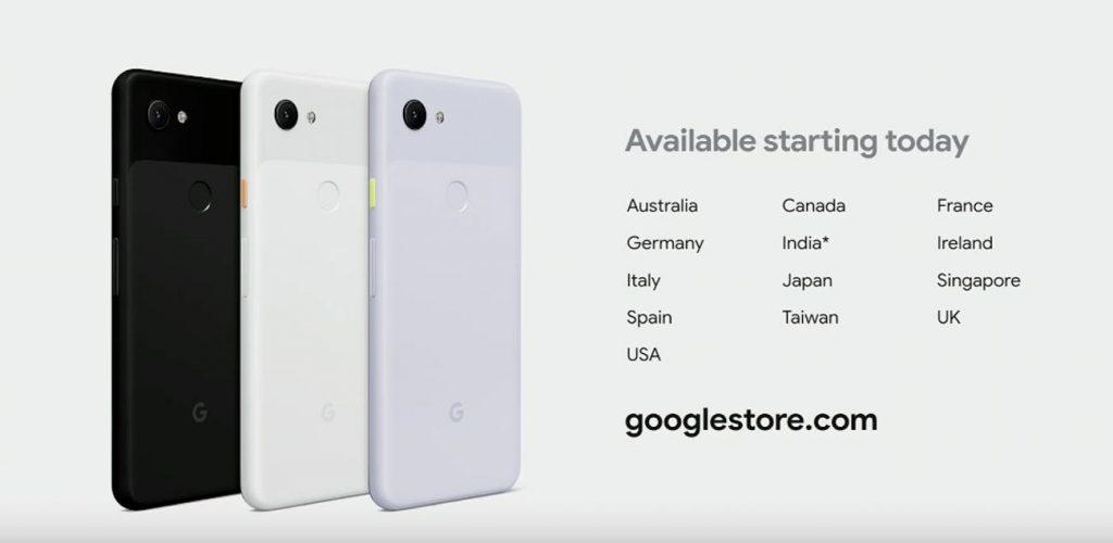google pixel 3a availability