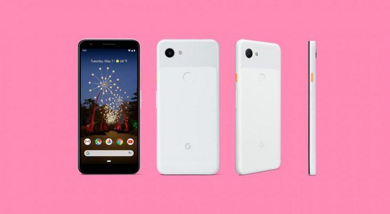 google pixel 3a white