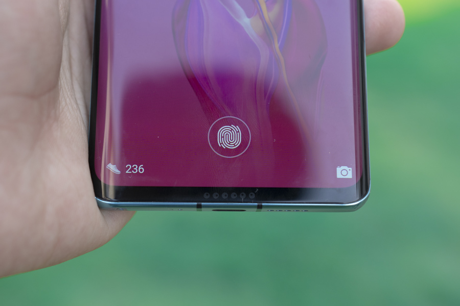 huawei p30 and p30 pro fingerprint scanners