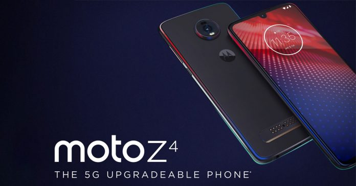 moto z4 launched