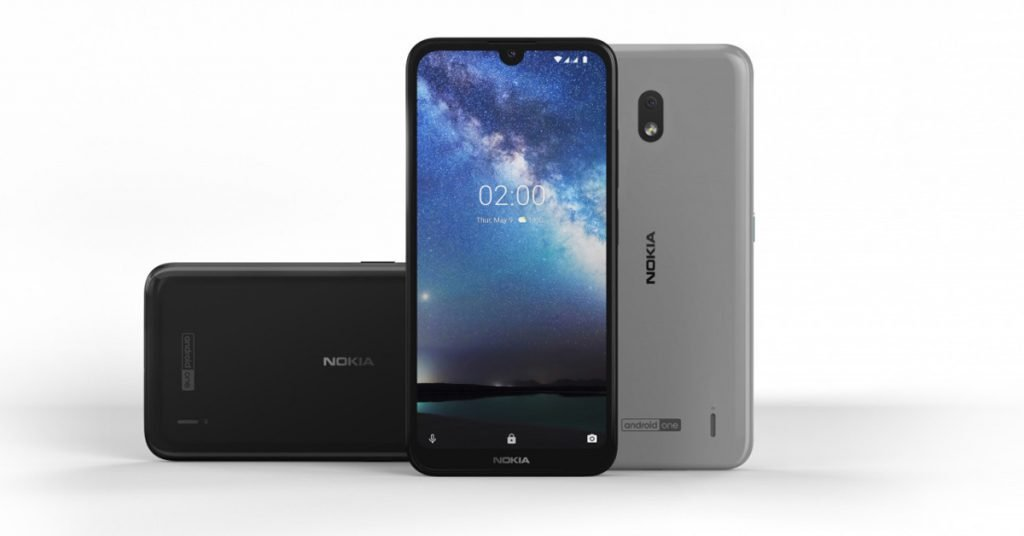 Nokia 2.2 display