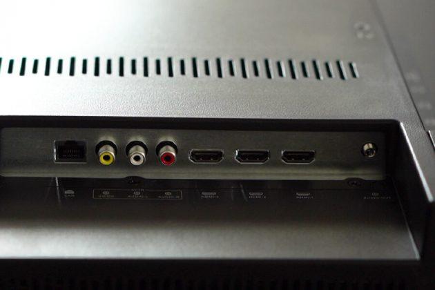 Yasuda 55-inch tv YS-55UC3 ports
