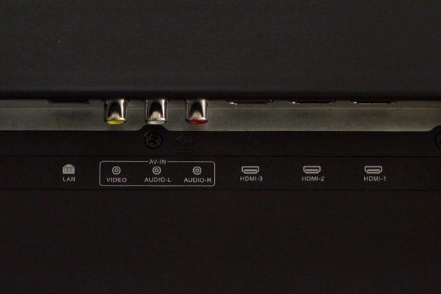 Yasuda YS-55UC3 55-inch tv ports