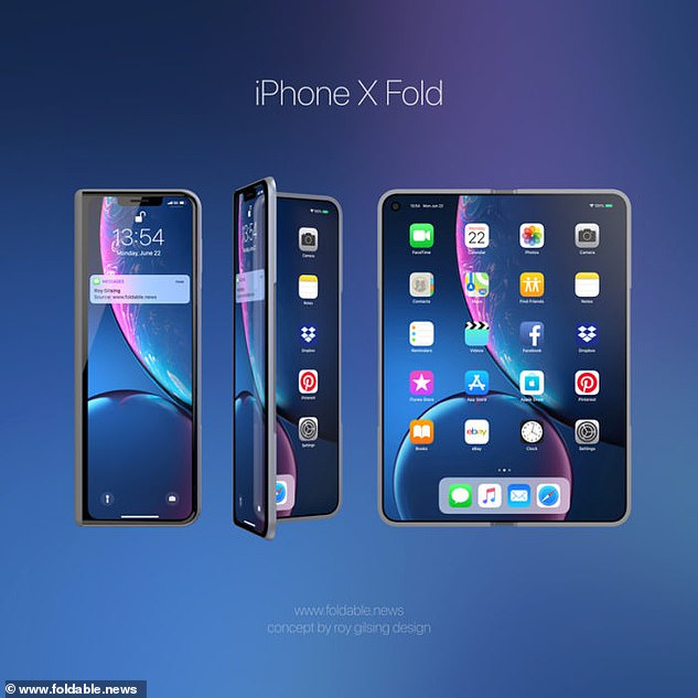 iphone x fold foldable iphone
