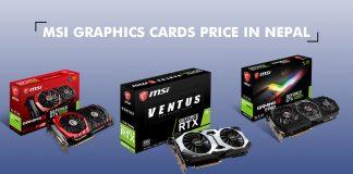 MSI Graphics Cards price nepal