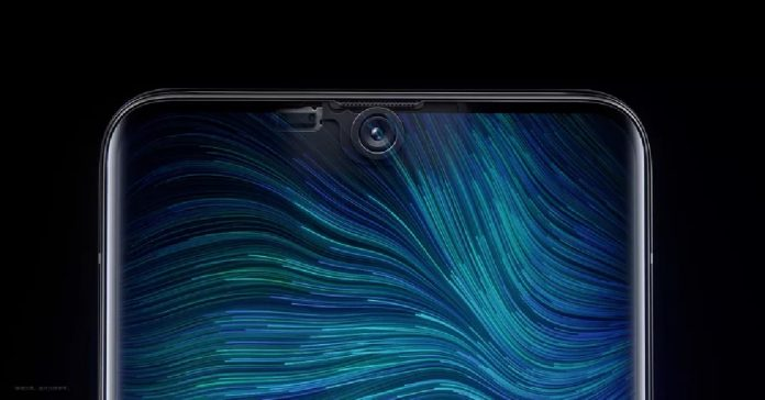 oppo under display selfie camera