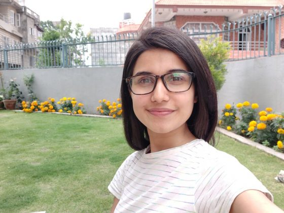 samsung galaxy a80 camera sample normal selfie 4