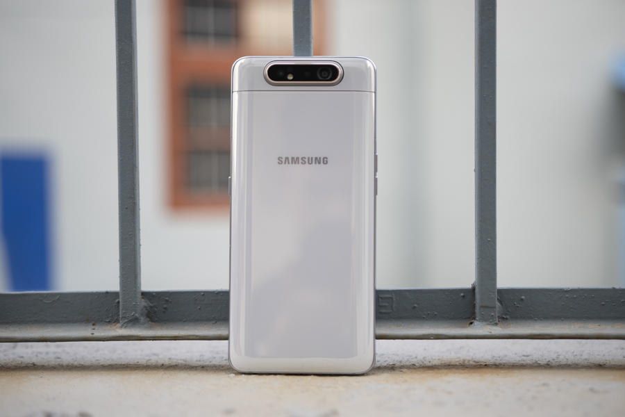 samsung galaxy a80 review design
