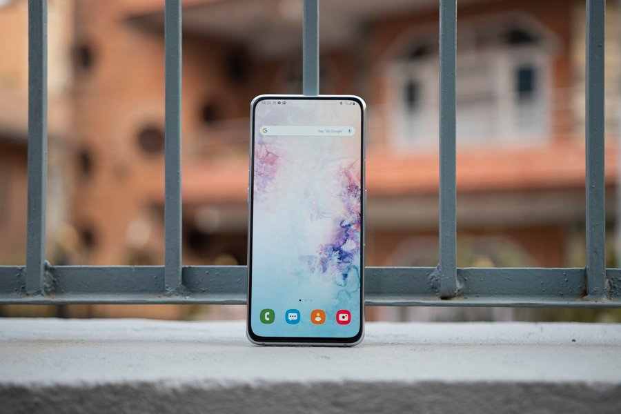 samsung galaxy a80 review display