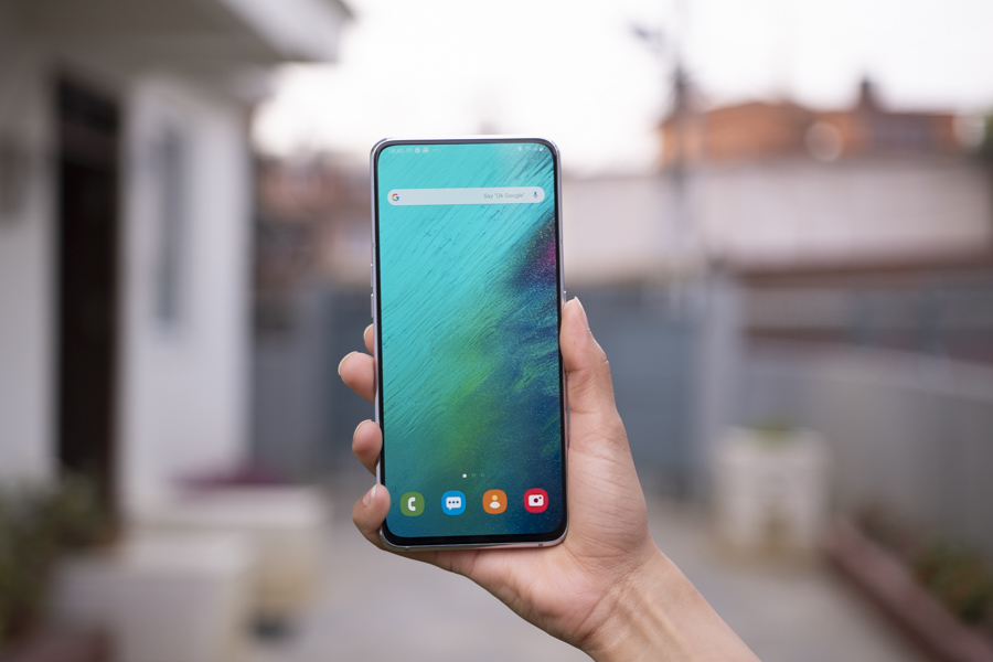 samsung galaxy a80 review no notch