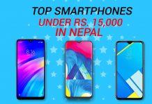 top smartphones under 15000 nepal