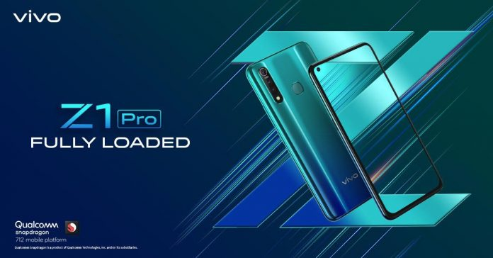vivo z1 pro launching soon