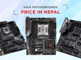 asus motherboard price nepal