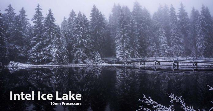 Intel Ice Lake CPU lineup
