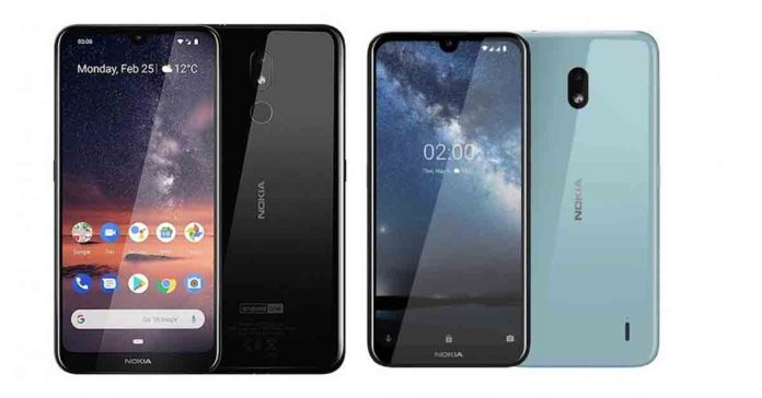 Nokia 2.2 & Nokia 3.2 Price in Nepal specs availability