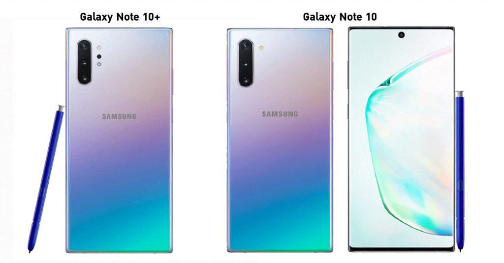 samsung galaxy note 10 and 10+