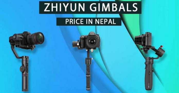 Zhiyun Gimbals Price in Nepal Specifications Availability Features