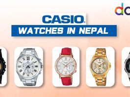 casio watches nepal daraz