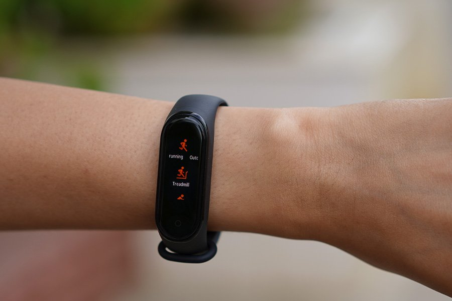 mi band exercise