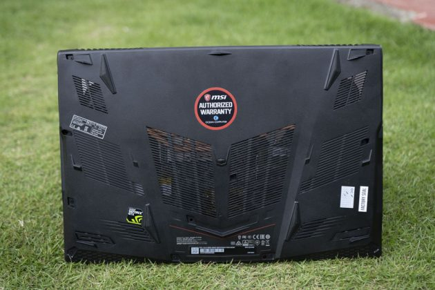 msi gl63 9rds design back