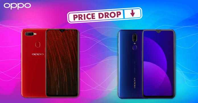 oppo phones price drop