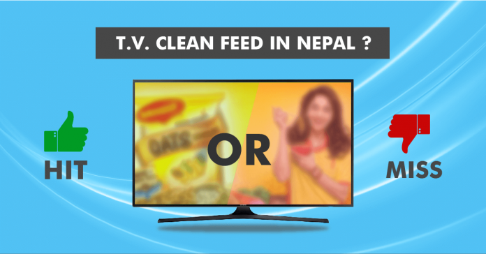 television clean feed policy nepal