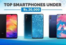 top smartphones under 30000 nepal
